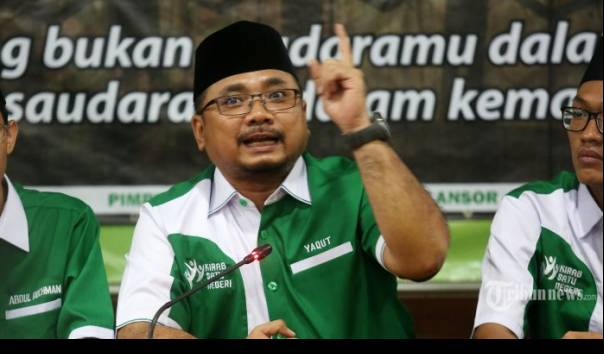 Ketua Umum PP GP Ansor Yaqut Cholil Qoumas