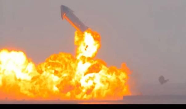 Roket SpaceX Elon Musk Berhasil Mendarat Meski Akhirnya Meledak, Dianggap  Pencapaian Besar