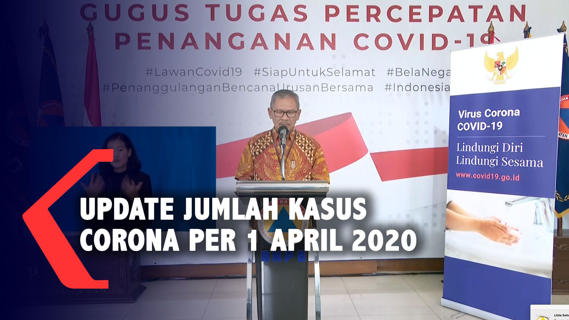 Full Update Jumlah Kasus Virus Corona Per 1 April 2020