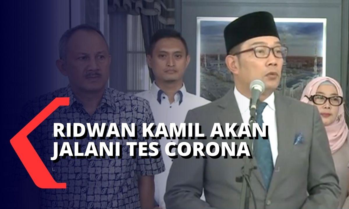 Sempat Bertemu Menhub, Ridwan Kamil Seger Jalani T