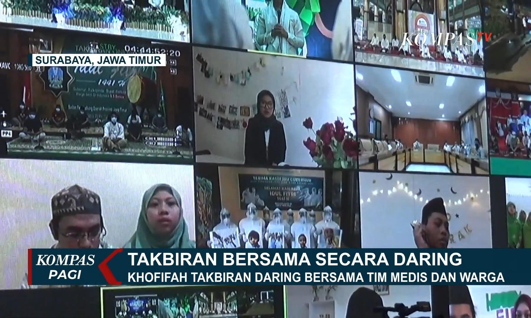 gubernur-khofifah-takbiran-online-bareng-warga-dan-tim-medis