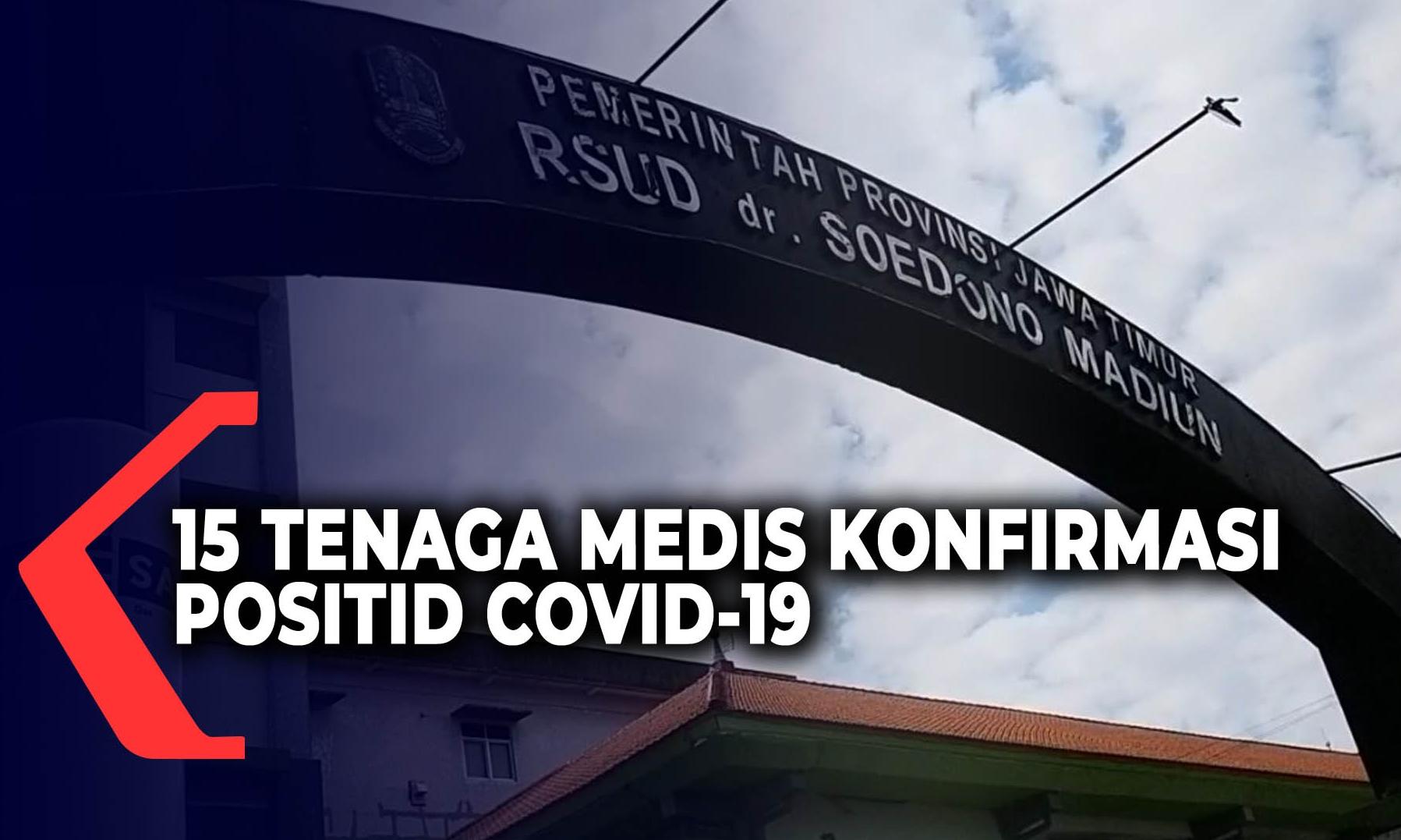 15-tenaga-medis-rsud-soedono-madiun-terkonfirmasi-covid-19