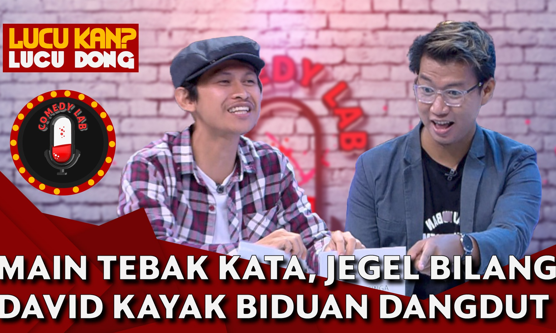main-game-indra-jegel-bilang-david-nurbianto-kayak-biduan-dangdut-comedy-lab-part-3