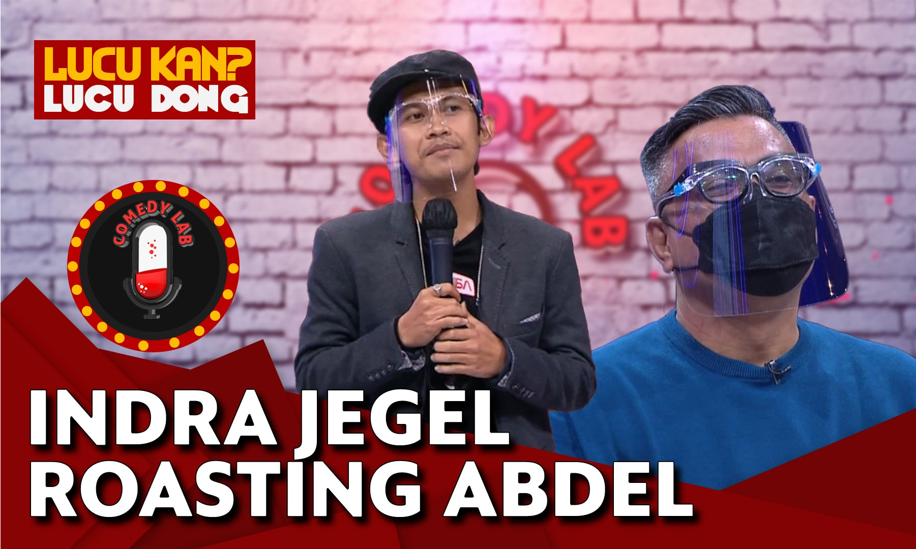 indra-jegel-roasting-abdel-achrian-comedy-lab