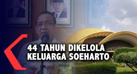Negara Resmi Ambil Alih Pengelolaan TMII dari Keluarga Soeharto - Kompas TV