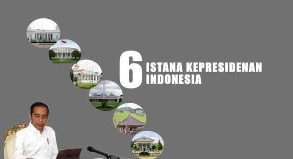 Waduh! Mengenal 6 Istana Kepresidenan Indonesia, Ada di Mana Saja Ya?