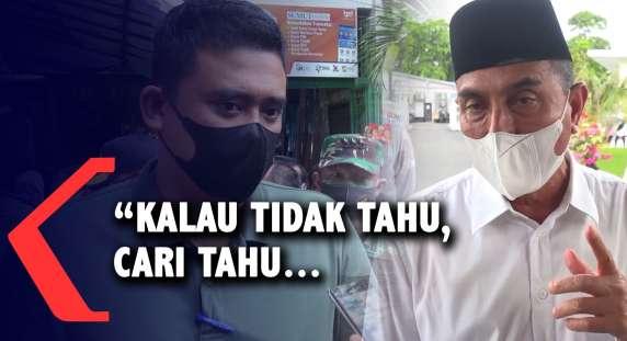 Gubernur Sumut Edy Rahmayadi Respon Bobby Nasution