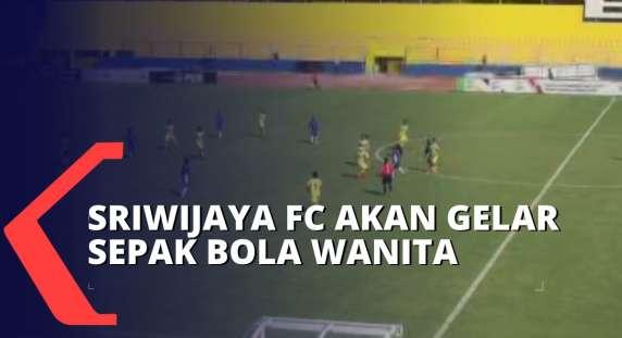 Parah! Tak Dibatasi Umur, Sriwijaya FC Akan Gelar Kejuaraan Sepak Bola Wanita