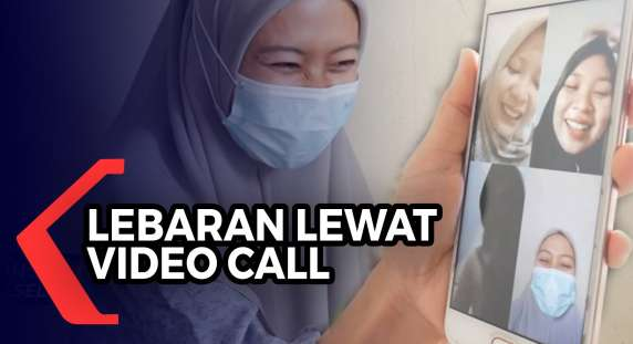 Duh! Tidak Bisa Mudik, Silaturahmi Melalui Video Call Jadi Pilihan untuk Rayakan Idul Fitri