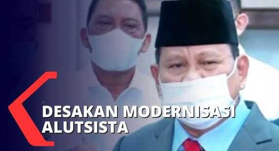Hmmm, Banyak Alutsista yang Sudah Tua, Prabowo Tegaskan Kebutuhan Mendesak Pembelian Alutsista